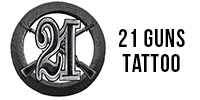 21 Guns Tattoo