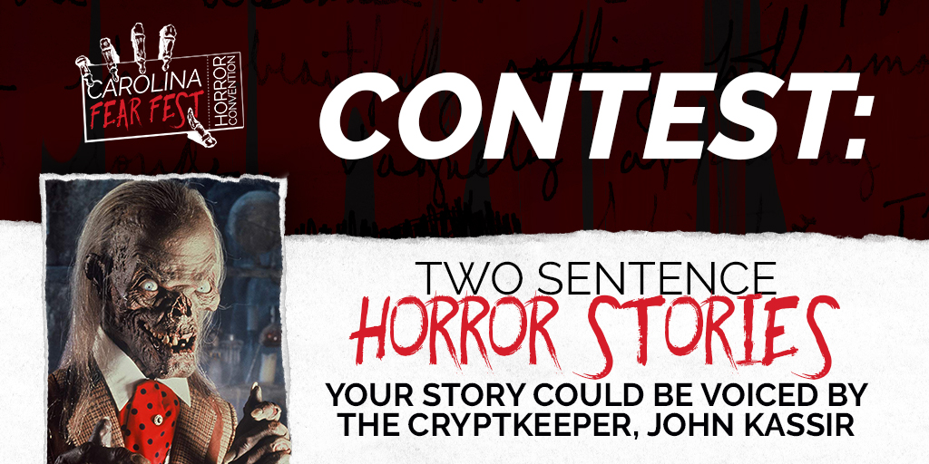 CONTEST: Two Sentence Horror Stories